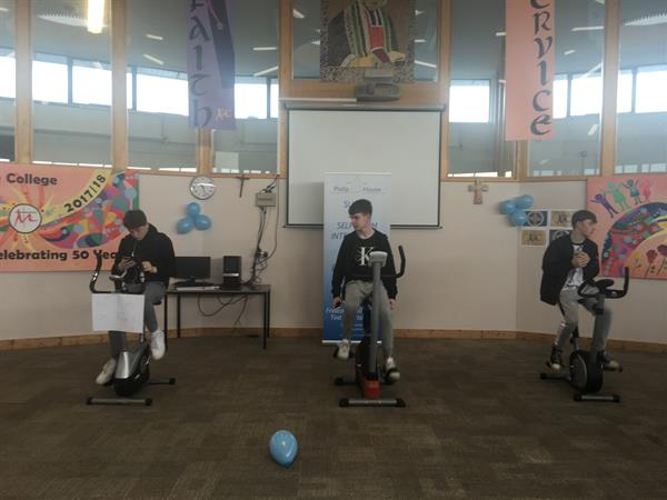 Transition Year Stationary Cycle Challenge for Pieta House