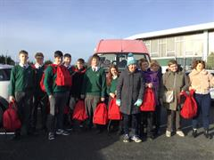 Transition Year Red Bags for the Homeless