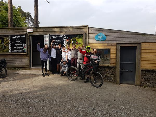A Boost up Ballinastoe-Schools Completion Mountain Biking