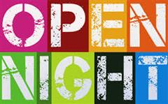 Open Night - Reminder -This Thursday 26th September