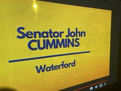 Senator John Cummins Answers Questions From First Year C.S.P.E Students